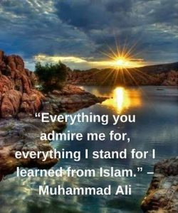 muhammad ali quotes on islam